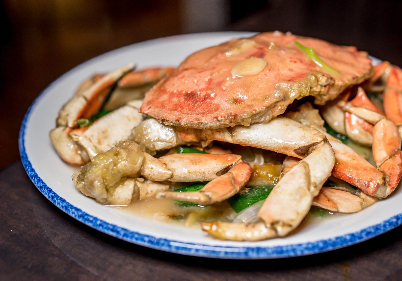 Luk Fu dungeness crab